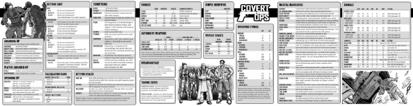 photo relating to Pathfinder Gm Screen Printable titled Covert Ops - GMs Display Print Enjoy - DwD Studios Covert